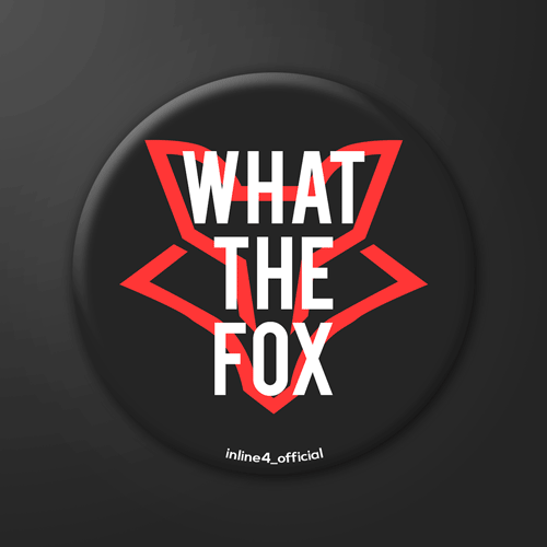 What the Fox | Badge