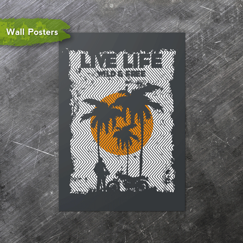 Live Life | A3 Posters