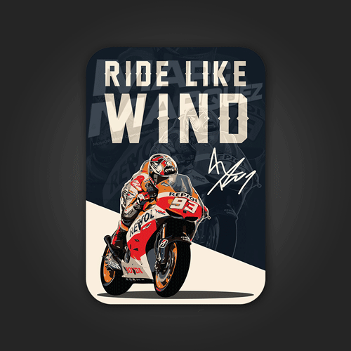 Ride like wind