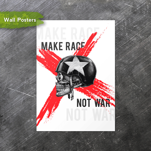 Make Race | A3 Posters
