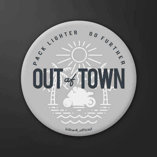 Out of Town | Badge