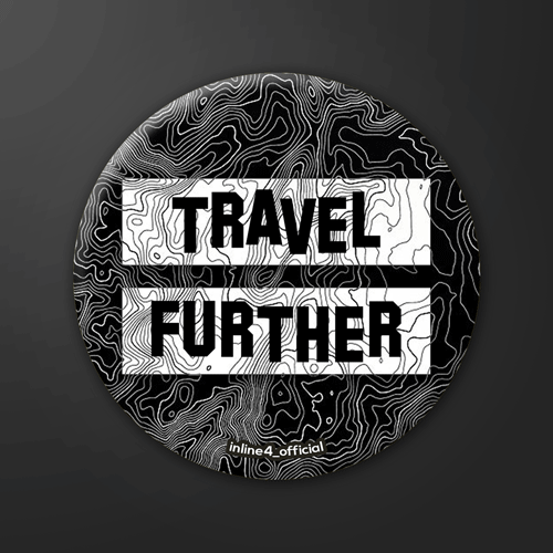 Travel Further | Badge