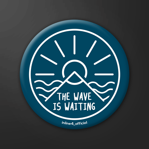 Wave is Waiting | Badge