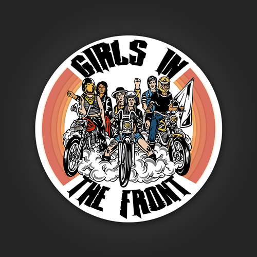Girls in the front
