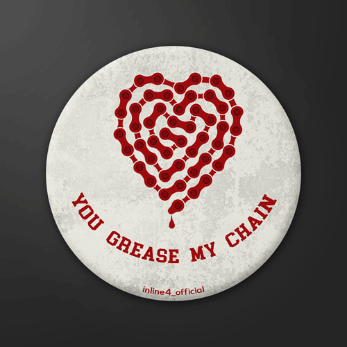 Grease my chain | Badge