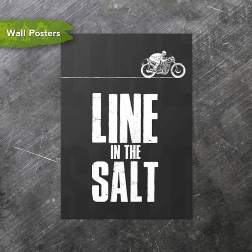 Line in the Salt | A3 Posters
