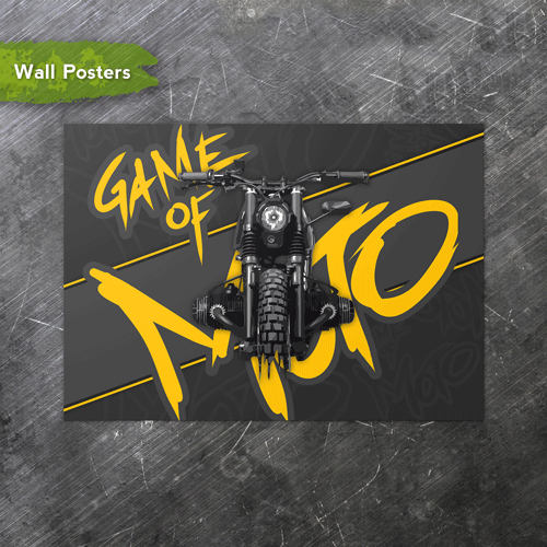 Game of Moto | A3 Posters